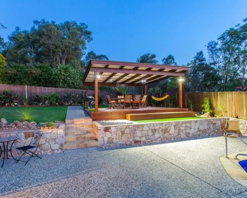 retaining and feature walls